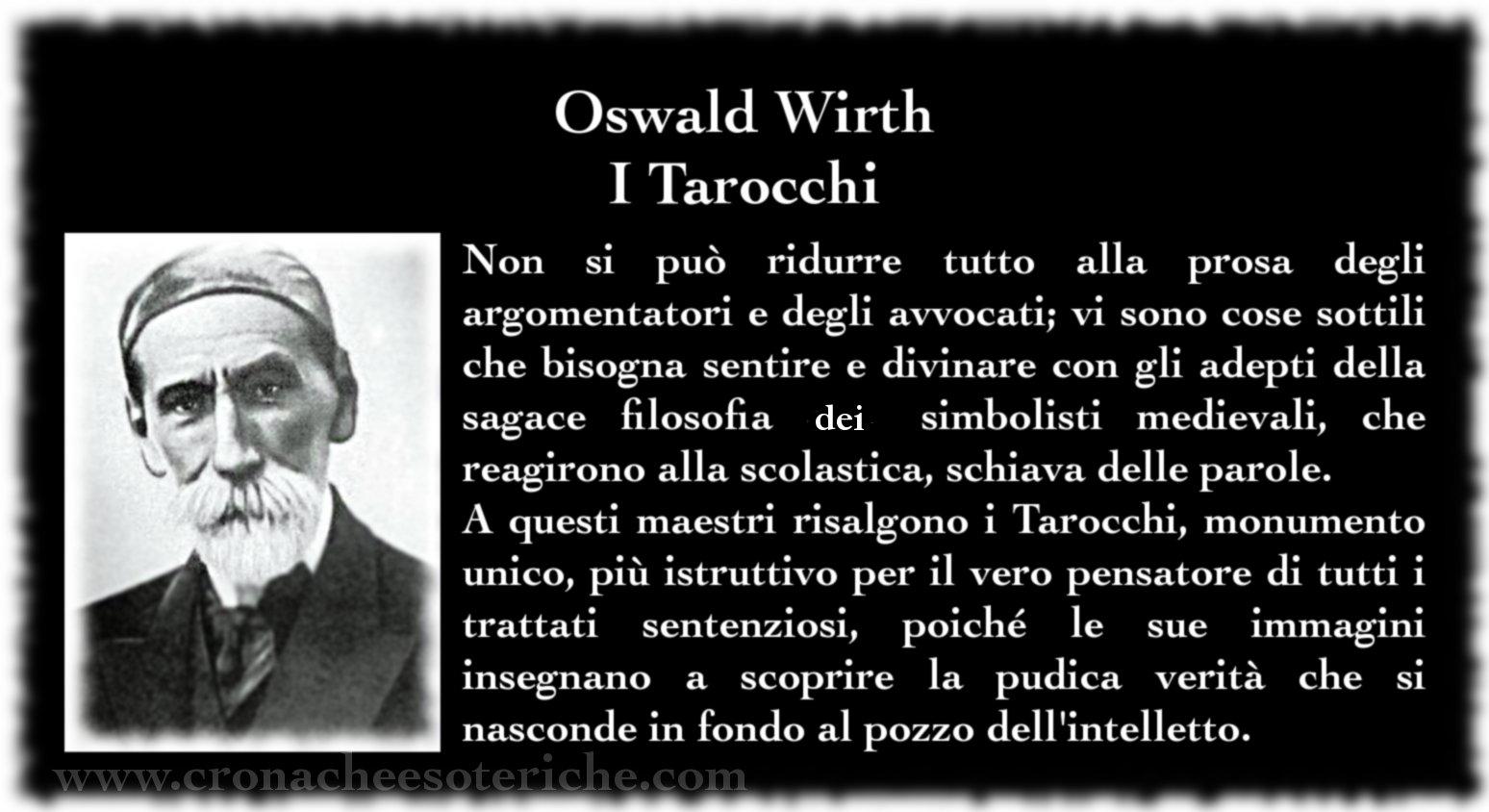 O. Wirth - I Tarocchi