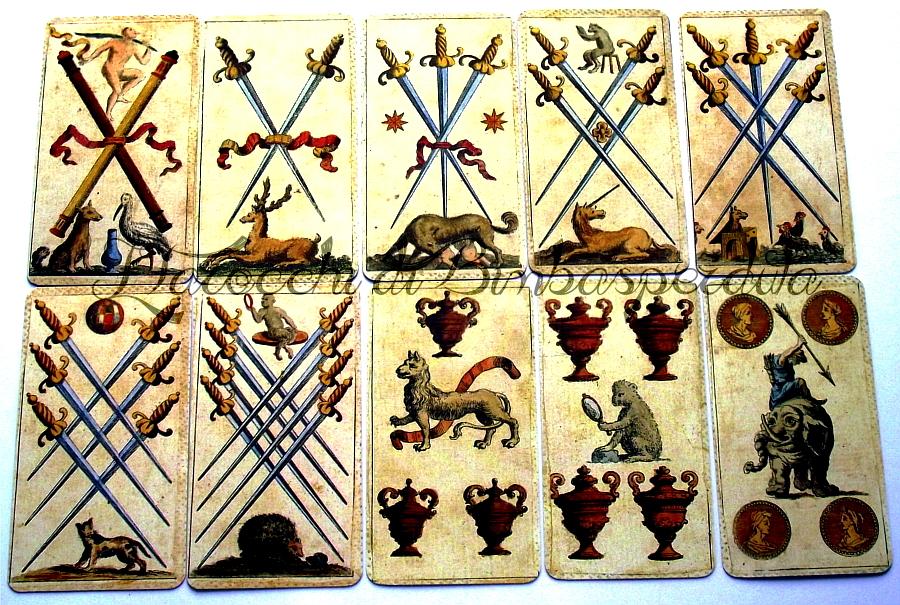 carte numerali dei Germini