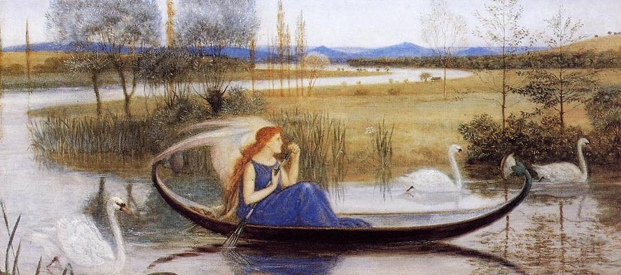 Walter_Crane_(1845-1915)_-_My_Soul_is_an_Enchanted_Boat
