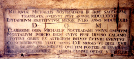 Nostradamus_epitaph
