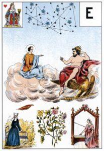 Grand Jeu Lenormand - Regina di Cuori