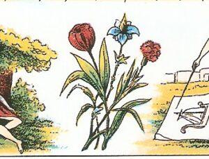 Linguaggio dei fiori nel Grand Jeu Lenormand