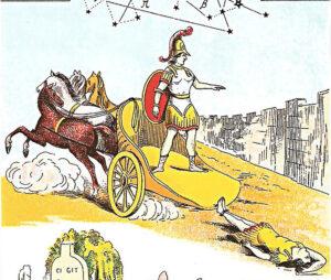 Achille trascina Ettore morto